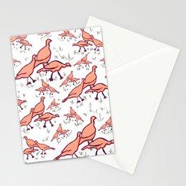 Wild Turkeys Stationery Cards