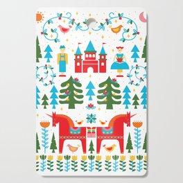 Scadinavian Fairytale Bright Cutting Board