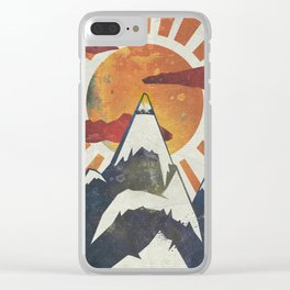 Mount Spitfire Clear iPhone Case