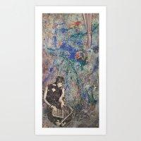 mod Art Prints featuring Mod by Megan Justine Henrich