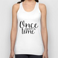 once upon a  time Tank Tops featuring Once Upon a Time by bookwormboutique