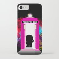 doraemon iPhone & iPod Cases featuring Dr. Mon by orangpalsu
