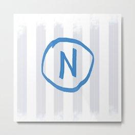 NAPOLI Metal Print