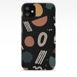 Geo Shapes Luxe iPhone Case
