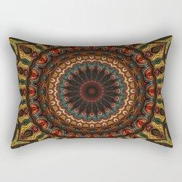 Trippy Fractal Kaleidoscope 2 Rectangular Pillow