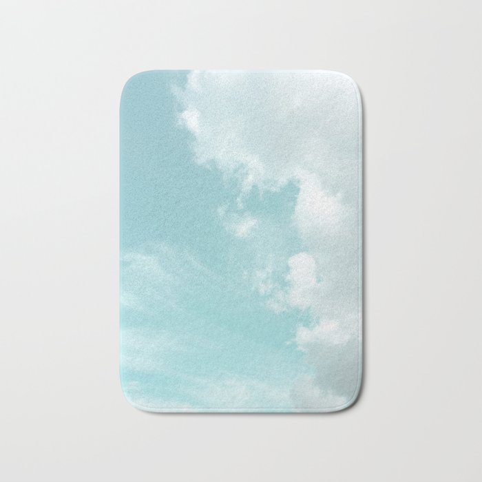 Head in the clouds #buyart #decor #freshair Bath Mat
