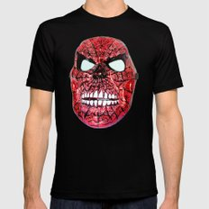Spidey Skull Mens Fitted Tee SMALL Black