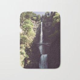 Multnomah Falls Waterfall - Nature Photography Bath Mat
