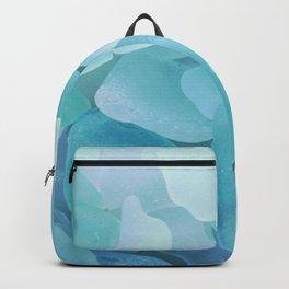 Sea Glass Ocean Blue Backpack