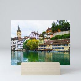 Zürich Mini Art Print