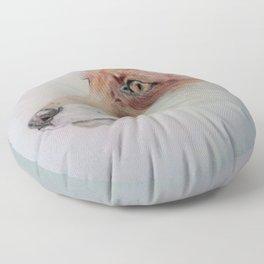 The fox Floor Pillow