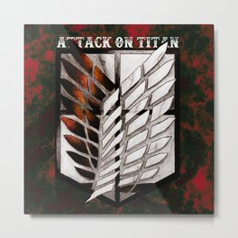 Attack on Titan Corps Metal Print