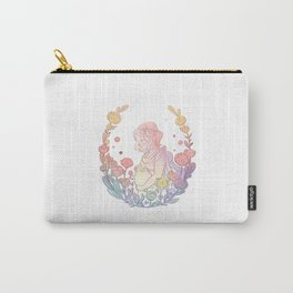 Pregnant Mommy - short hair Carry-All Pouch