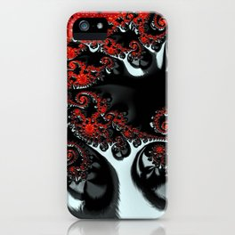Apple Trees in the Moonlight iPhone Case
