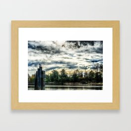 The Slough HDR Framed Art Print