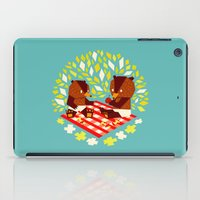 yetiland iPad Cases featuring picknick bears by Yetiland