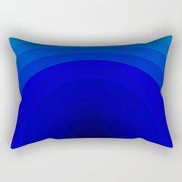 Blue Depths Rectangular Pillow