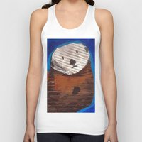otter Tank Tops featuring Otter by Cre8tive Papier