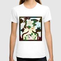 window T-shirts featuring WINDOW by Bluetiz