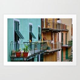 il balcone Art Print
