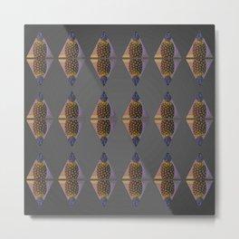 Pineapple pattern B1 Metal Print