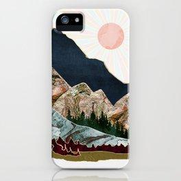 Retro Autumn Vista iPhone Case