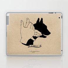 Hand-shadows Mr Dog Laptop & iPad Skin