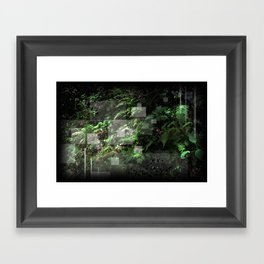 Smoky Mountain Jungle Framed Art Print