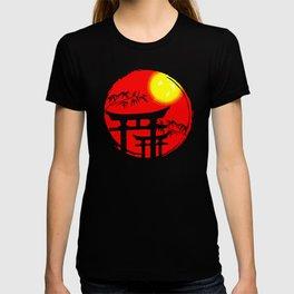 Japanese Sun Temple Japan T-shirt