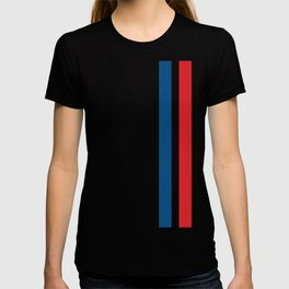 McQueen – Red and Blue Stripes T-shirt