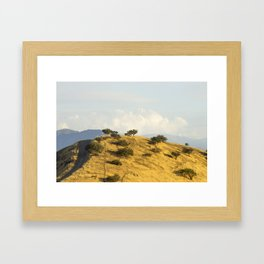 Chena hill  Framed Art Print