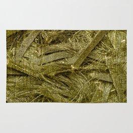 Golden fibers Rug