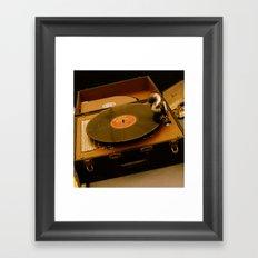 Victrola Framed Art Print