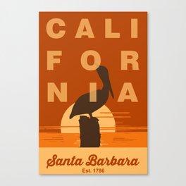 Santa Barbara. Canvas Print