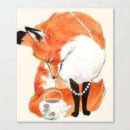 Velma's Teapot Canvas Print