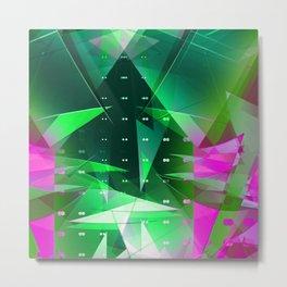 floatin' origami. det Metal Print