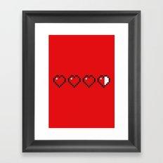 PAUSE – Re-fill Framed Art Print