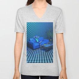 Blue Room Unisex V-Neck