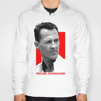 formula 1 Hoodies featuring Formula One - Michael Schumacher by Vehicle
