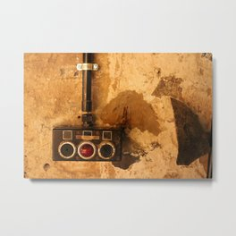 Heavy Industry - Switch Metal Print