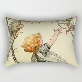 """""""Bother the Wind"""" by Duncan Carse Rectangular Pillow"""