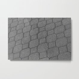 Pavers at Purdue Metal Print
