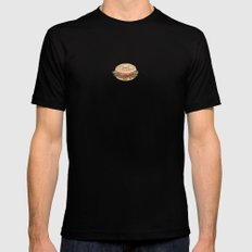 Bagel Sandwich 2X-LARGE Mens Fitted Tee Black
