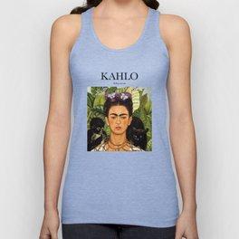 Kahlo - Self-portrait Unisex Tank Top