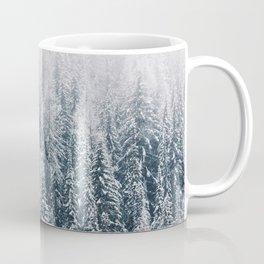Snowy Pines in Washington's Wild Coffee Mug