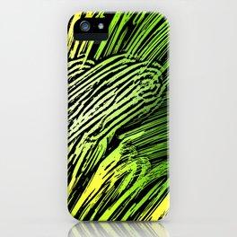 Green Mind iPhone Case