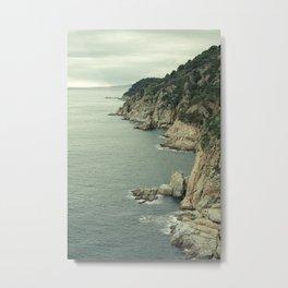 Tossa de Mar, Catalonia Metal Print