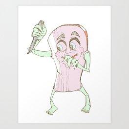 Stab-YA Art Print