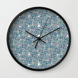 Color weave Wall Clock