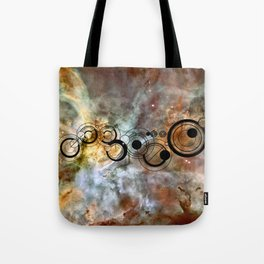 Doctor Who Allons-y Gallifrey with the Carina Nebula Tote Bag